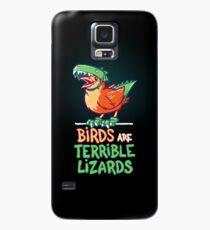 Birds Are Terrible Lizards Case/Skin for Samsung Galaxy