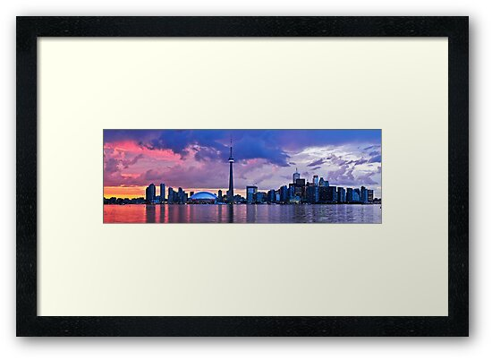 Toronto skyline panorama by Elena Elisseeva