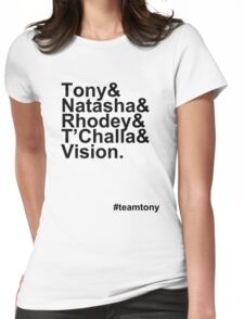 Team Tony Womens Fitted T-Shirt