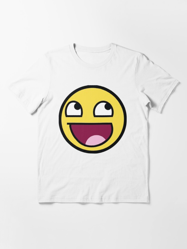 Alternate view of Awesome Face / Epic Face Meme Essential T-Shirt