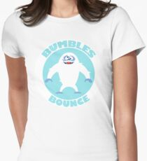 BUMBLES BOUNCE Womens Fitted T-Shirt