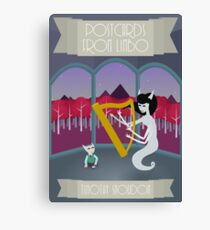 Postcards from Limbo Canvas Print