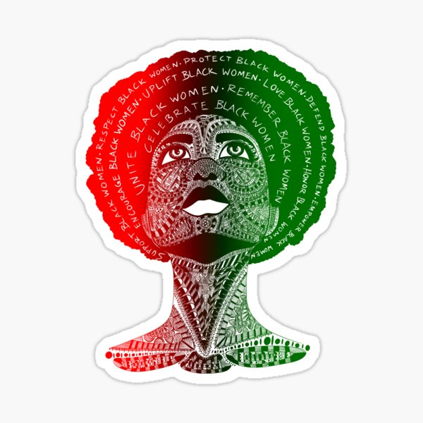Celebrate Black Women Sticker