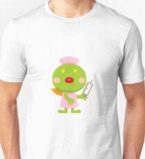 Frog blonde nurse and syringe T-Shirt