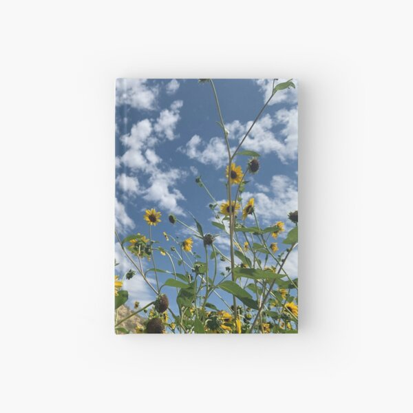 Wild Sunflowers Hardcover Journal