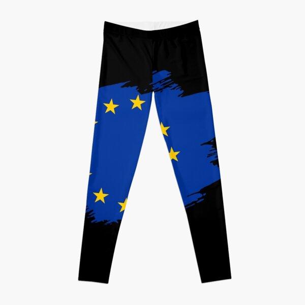 Europe flag banner Leggings
