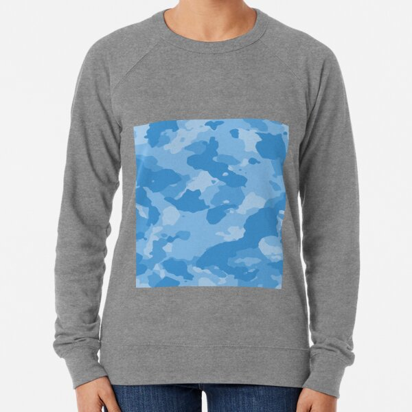 Light Blue Camouflage Sweatshirts & Hoodies | Redbubble