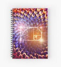 Golden Ratio Spiral Notebook