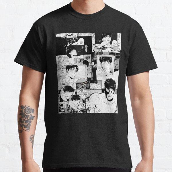 Bj alex negro y blanco editar Camiseta clásica