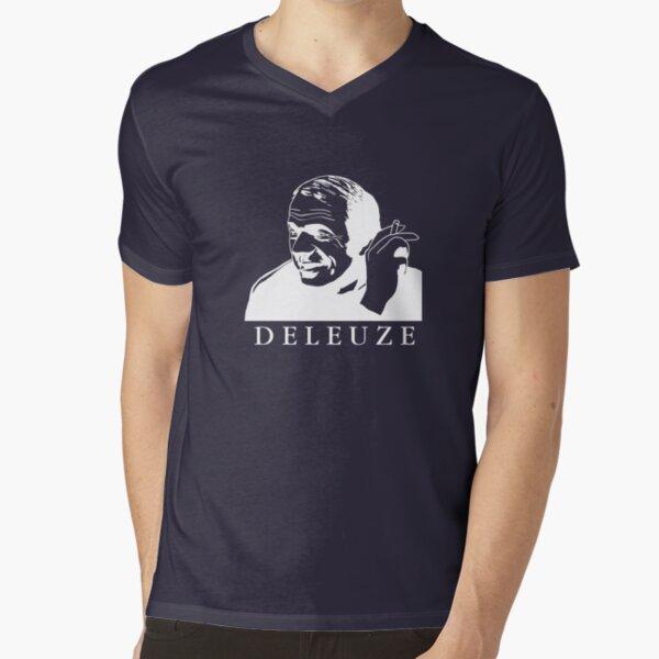 T-shirt Gilles Deleuze T-shirt col V