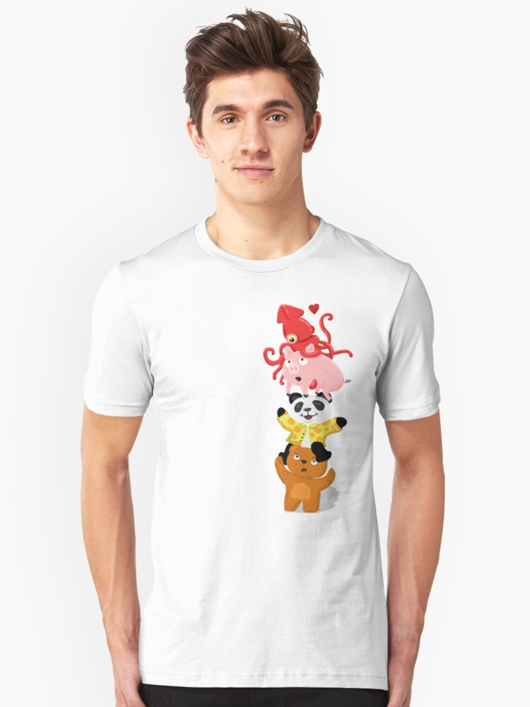 totem friends Unisex T-Shirt Front