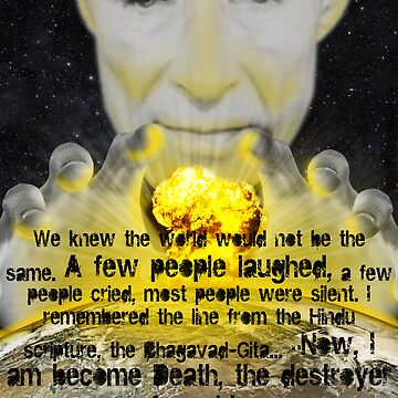 Oppenheimer Trinity test by craziwolf