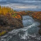 Autumn in Egilsstadir by Peter Hammer