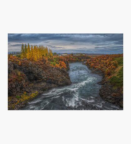 Autumn in Egilsstadir Photographic Print