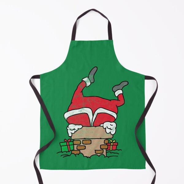 Father Christmas Novelty Apron Santa Suit Design Gift Idea for Fun Festive I8B7