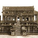 Temple of Cambodia by Paige