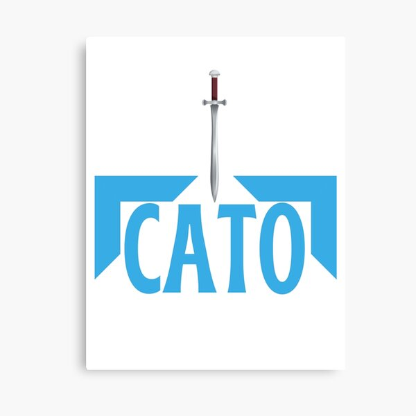Cato Hunger Games Canvas Print