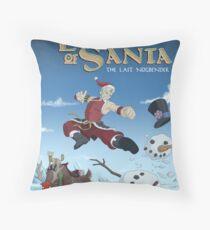 Legend of Santa Throw Pillow