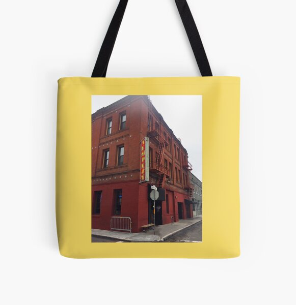 The Tempest - San Francisco All Over Print Tote Bag