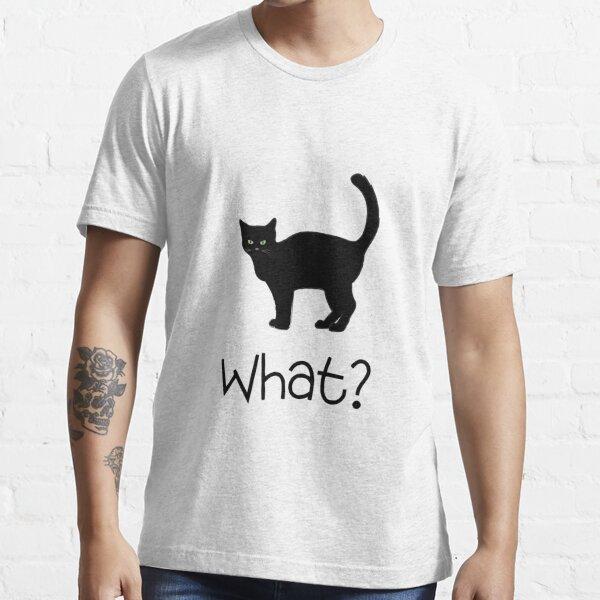 Black cat Essential T-Shirt