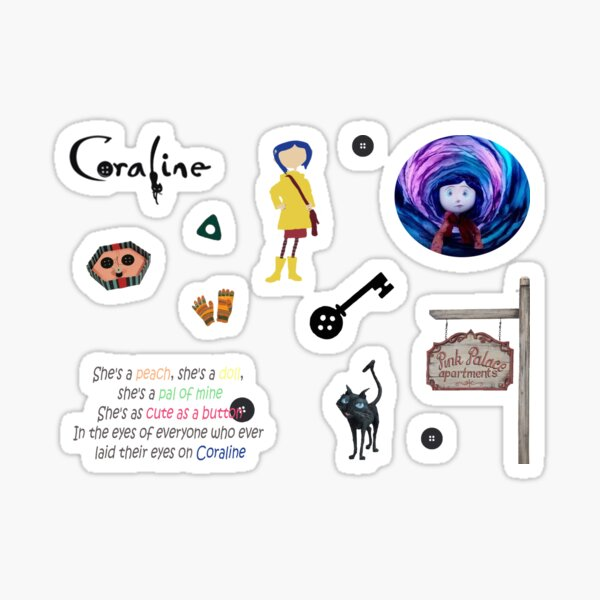 Pack Coraline Sticker