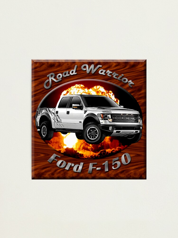 Alternate view of Ford F-150 Truck Road Warrior Photographic Print