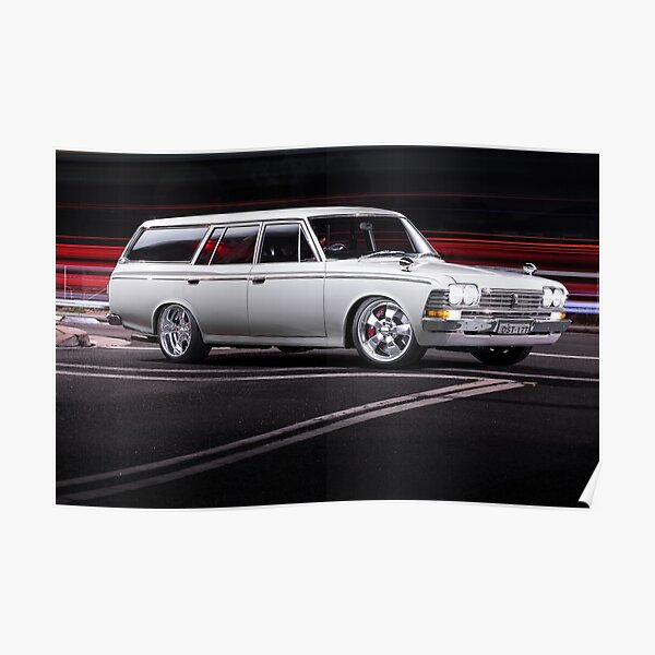 Luke's Toyota Crown Wagon Poster