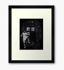 Dr Whoibble Framed Print