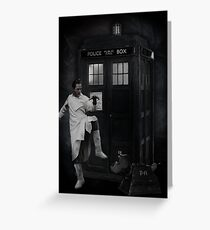 Dr Whoibble Greeting Card