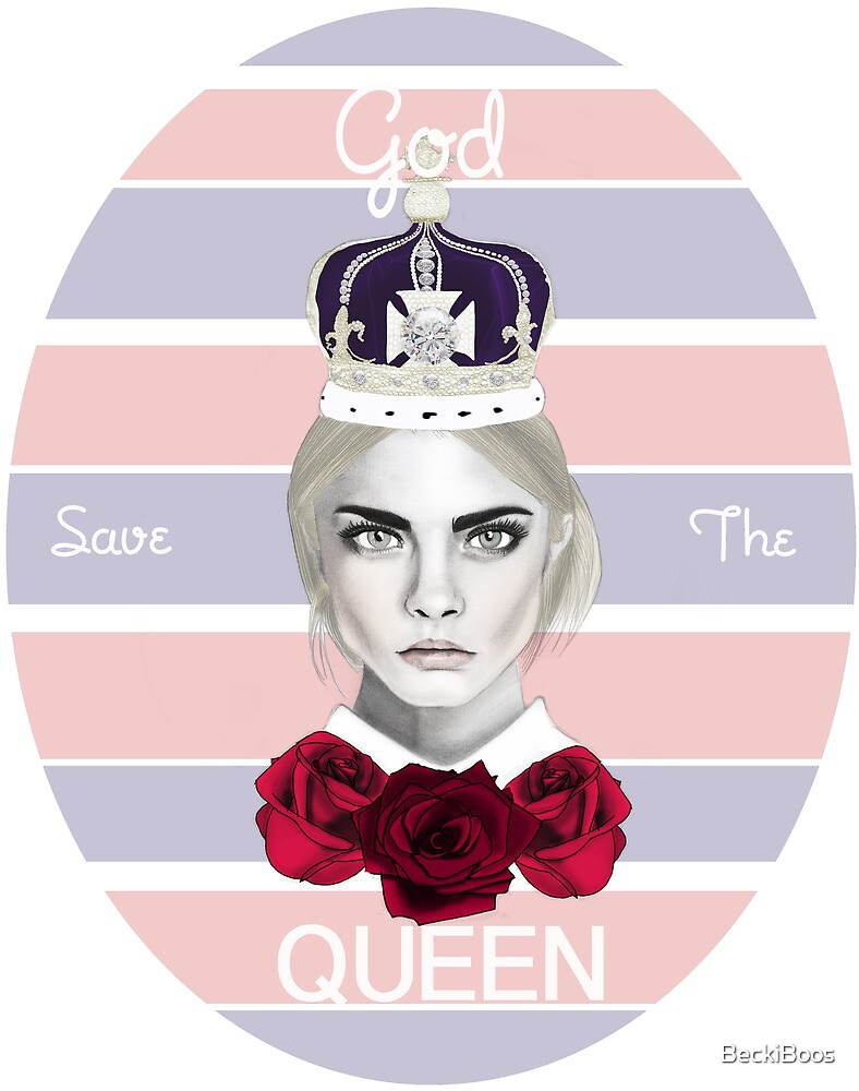 God save the queen by BeckiBoos