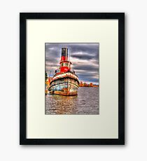 Thunder Bay Harbor Framed Print
