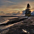 Lake Superior near Thunder Bay by Dawne Olson