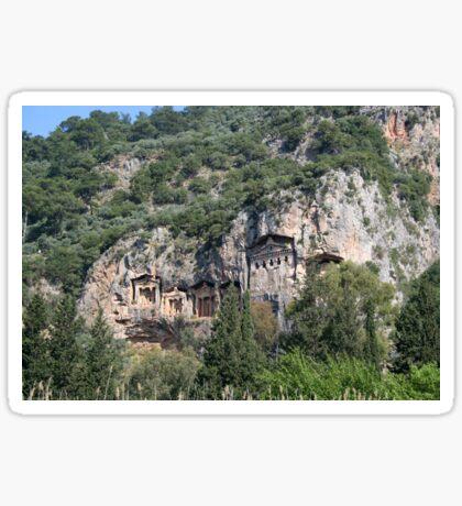Dalyan Lycian Rock Tombs Sticker