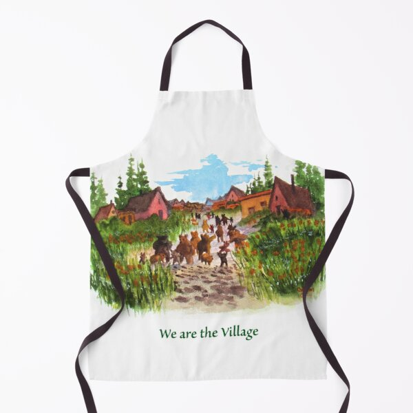 We Are The Bear Village Apron