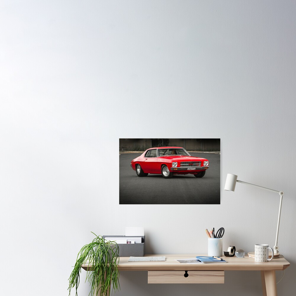 Peter's HQ Holden GTS Monaro Poster
