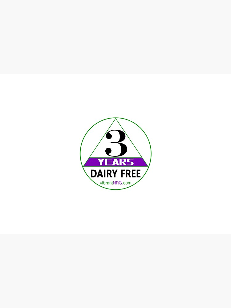 3 Years DAIRY FREE by vibrantNRG
