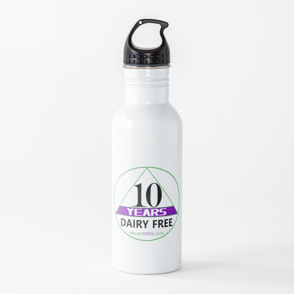 10 Years DAIRY FREE Water Bottle
