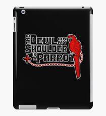 Shoulder Devil Parrot iPad Case/Skin