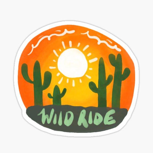 a wild ride Sticker