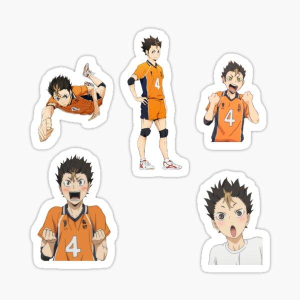 Nishinoya Pack Of Sticker Sticker