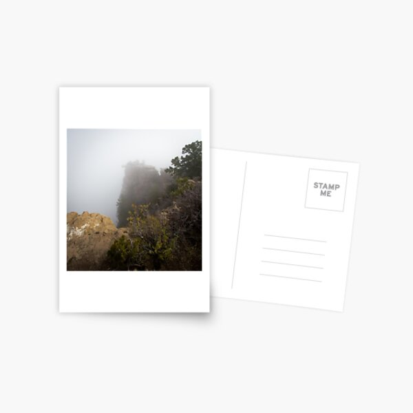 The Rare Grand Canyon covered with puffy fog Postcard