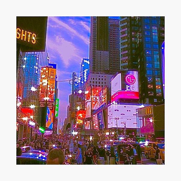 new york city- indie aesthetic photo Photographic Print