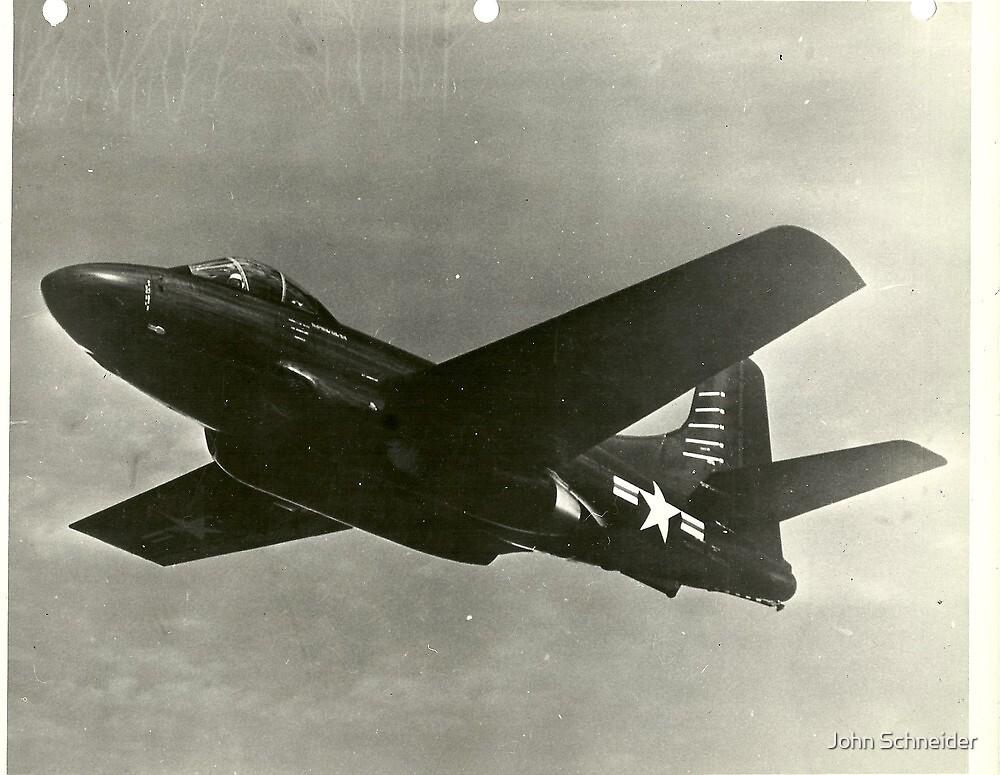 Douglas F3D-1 Skynight (Skyknight) by John Schneider