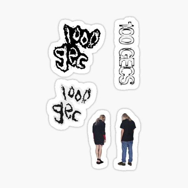 100 gecs sticker pack 2 Sticker