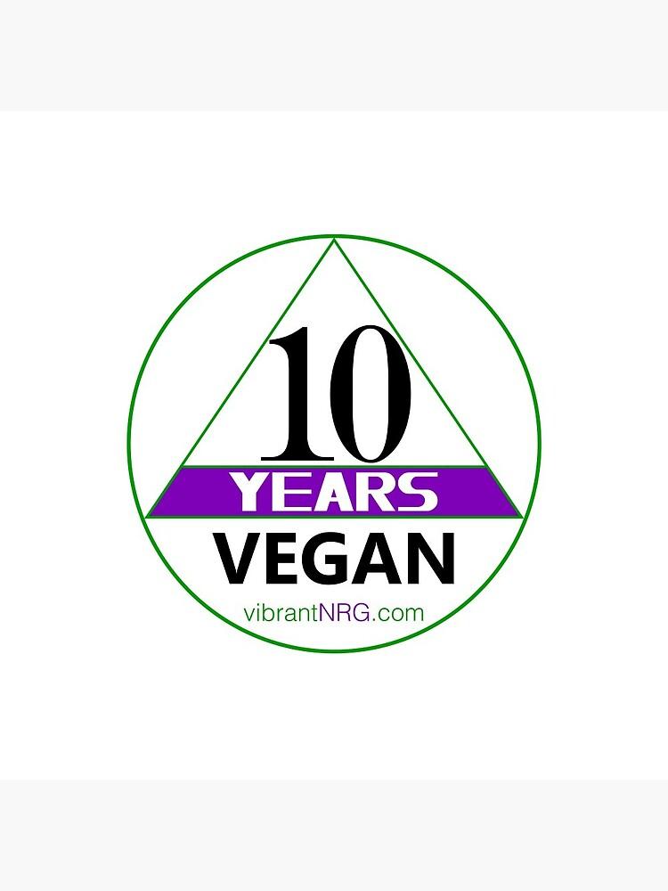 10 Years VEGAN by vibrantNRG