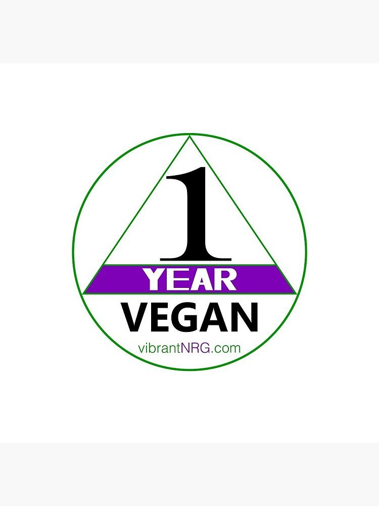 1 Year VEGAN by vibrantNRG