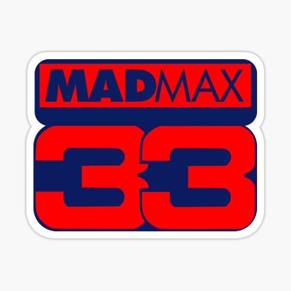 Autocollant Max Verstappen 33 Sticker
