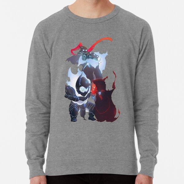 Solo Leveling - Igris, Tank, Iron, and Tusks Chibi Lightweight Sweatshirt