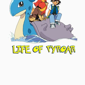 Life Of Pyroar by StonerMunkee
