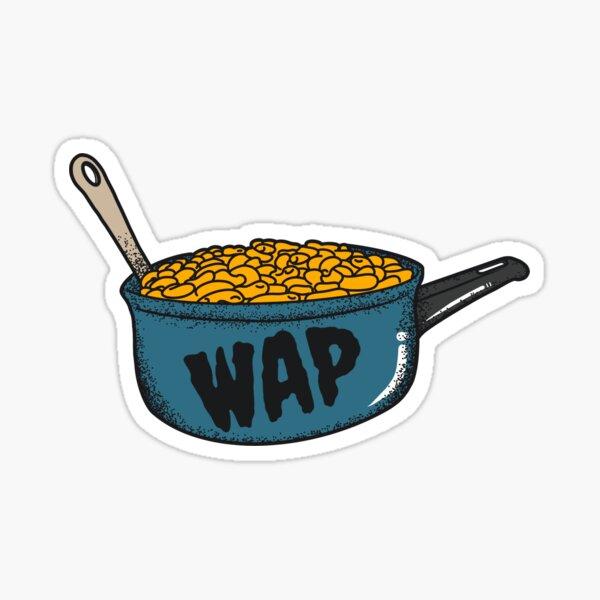 Macaroni In A Pot WAP Sticker Sticker
